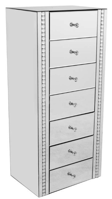 Crystal 7 Drawer Chest