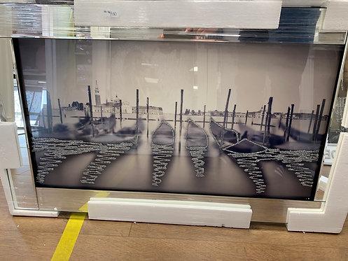 Gondolas on Mirrored Frame