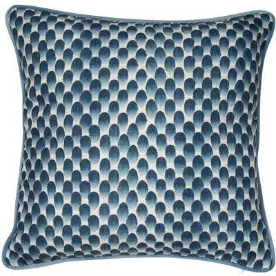 Blue Impression Cushion 45x45cm