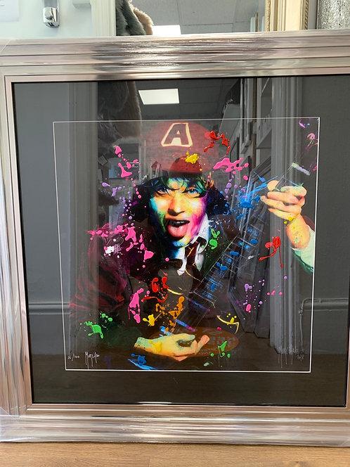 AC/DC Limited Edition 90x90cm