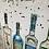 Thumbnail: Gins of London on Chrome Stepped Frame 95x75cm