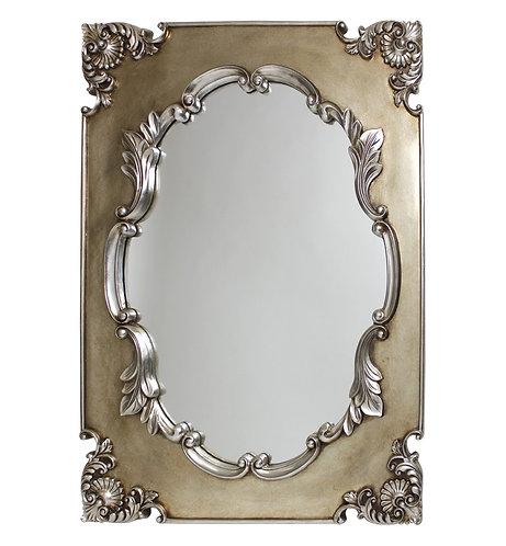 Champagne Grecian Mirror 102x76cm