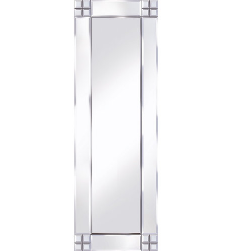 Classic Cross Corner Mirror 120x40cm