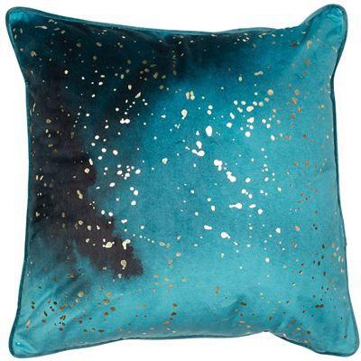 Mineral Teal Cushion 45x45cm