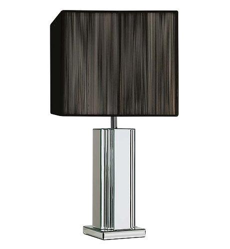 Mirrored Deco Lamp