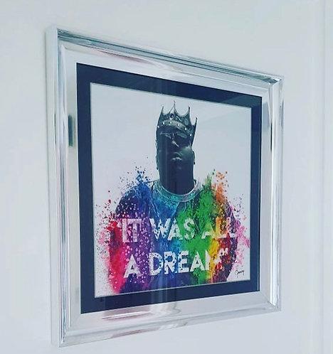 Biggie - It Was All A Dream 75x75cm