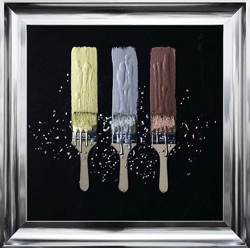 3D Paint Brushes 75x75cm