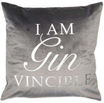Gin-Vincible Cushion