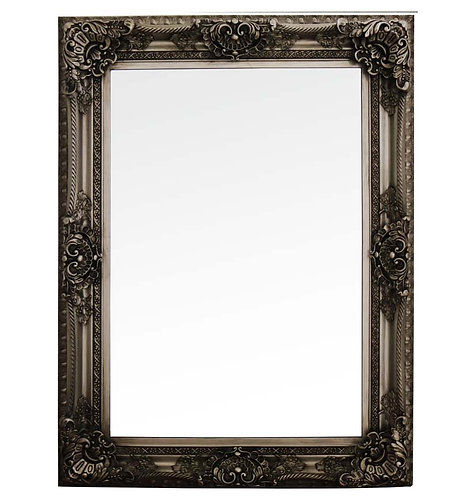 Antique Silver French Style Mirror 120x90cm