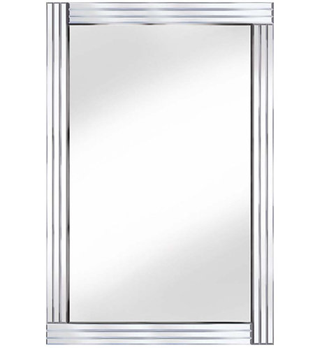 Classic Triple Bar Mirror 80x60cm