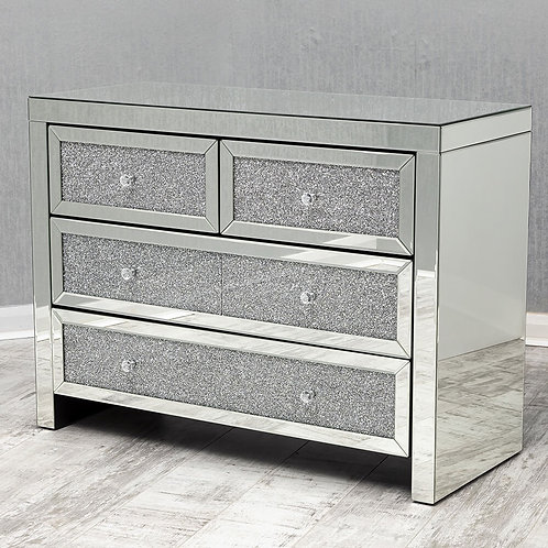 Crushed Diamond Chest of Drawers