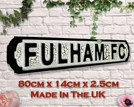 Fulham FC Road Sign
