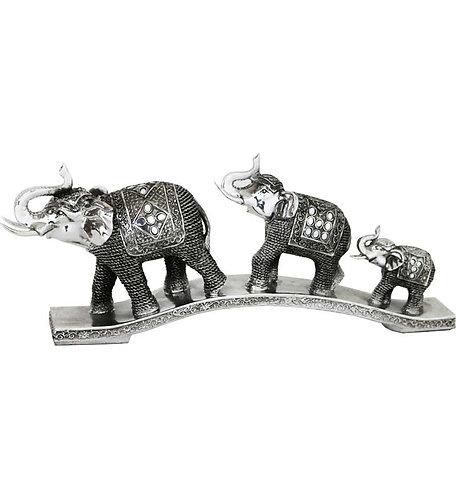 "21"" Three Elephants"