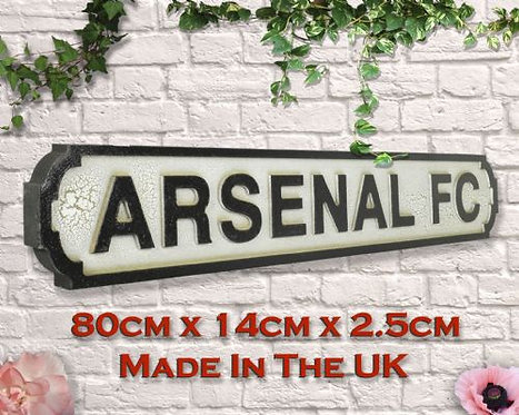 Arsenal FC Road Sign