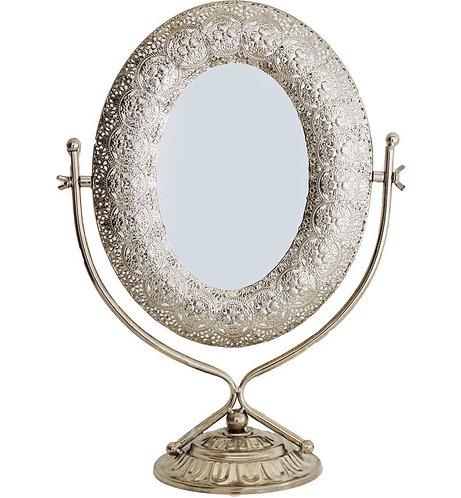 Metal Table Mirror 42x30cm