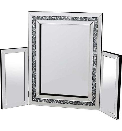 Crushed Diamond Dressing Table Mirror