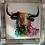 Thumbnail: Bull on Chrome Step Frame 85x85cm