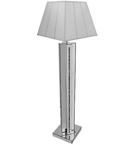 Crushed Diamond Cross Floor Lamp