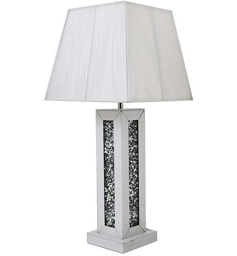 Crushed Diamond White Lamp