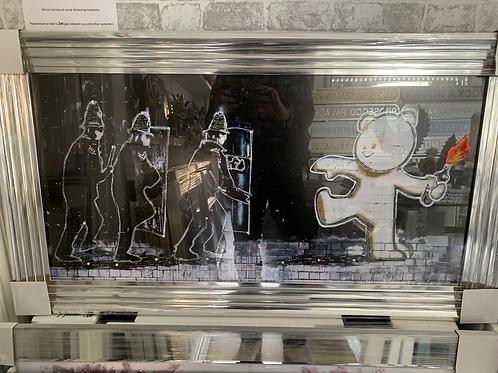 Banksy Mild Mild West 110x60cm