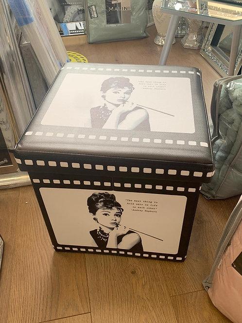 Audrey Hepburn Storage Box