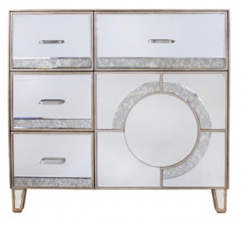 Christina 4 Drawer & 1 Door Cabinet
