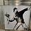 Thumbnail: Banksy Flowers 55x55cm