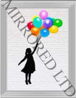 Banksy Ballons 55x75cm
