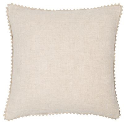 Natural Fringe Cushion 45x45cm