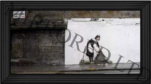 Banksy Sweep It Under 110x60cm