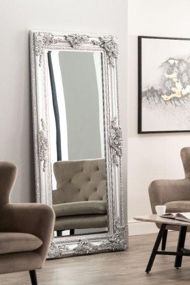 Large High Silver Mirror 200x100cm
