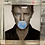 Thumbnail: David Bowie Bubble Gum on Mirrored Frame 90x90cm