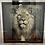 Thumbnail: Mafia Lion on Chrome Scoop Frame 90x90cm