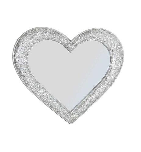 Medium Heart Mirror 65x55cm