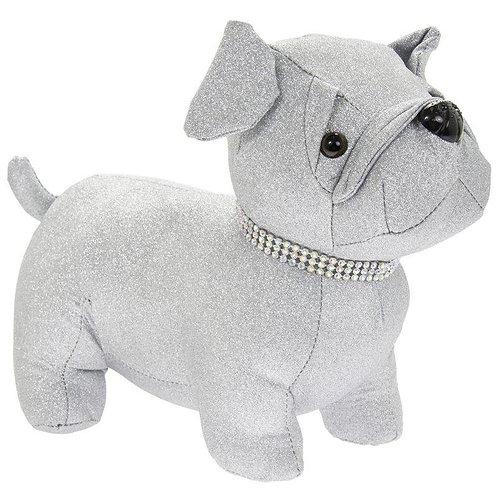 Sparkly Pug Dog Doorstop