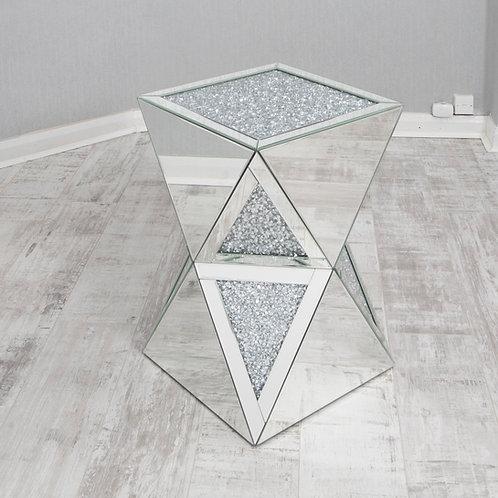 Large Crushed Diamond Pedestal