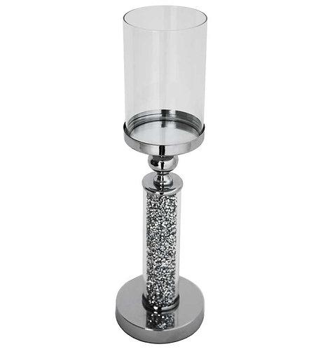 Crushed Diamond Candle Holder 47x12cm