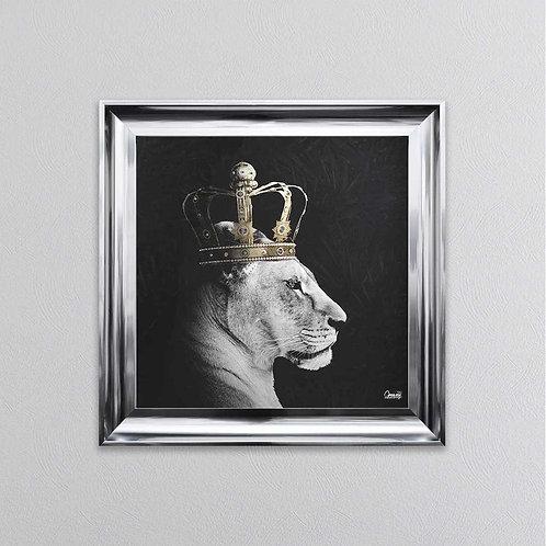 Lioness Queen 90x90cm