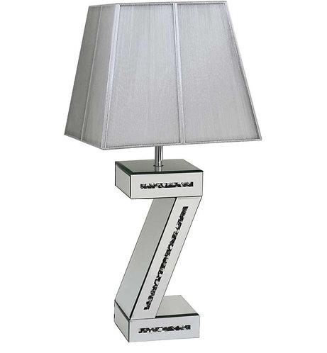 Crushed Diamond Z Lamp
