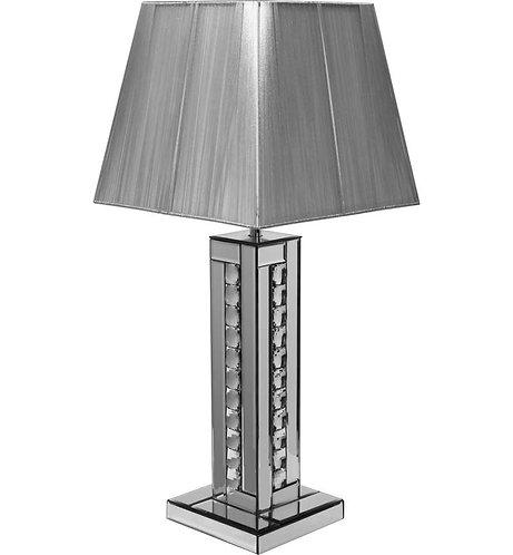 Crystal Silver Lamp