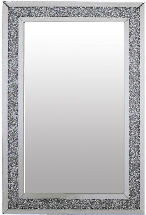 Crushed Diamond Mirror 120x80cm