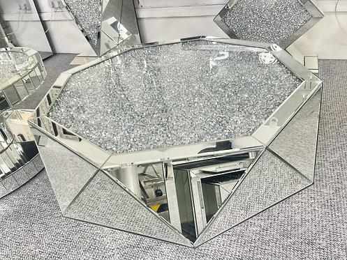 Crushed Diamond Hexagonal Coffee Table
