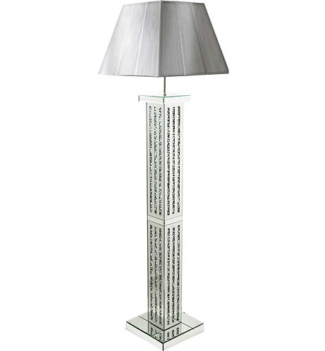 Crushed Diamond 3 Stripe Floor Lamp