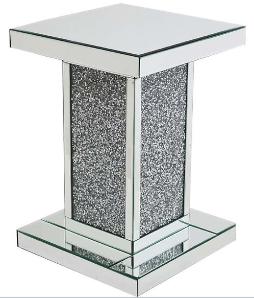 Crushed Diamond Side Table