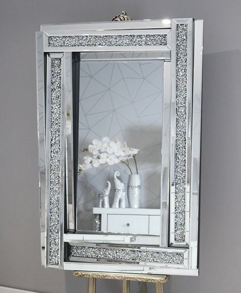 Crushed Diamond 3D Mirror 120x80cm