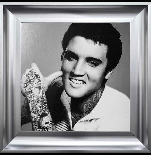 Elvis Tattoo 55x55cm