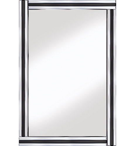 Classic Triple Bar Black/Silver 120x80cm