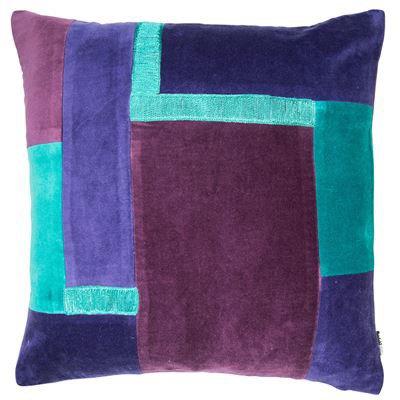 Mauve Patch Cushion 45x45cm