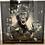 Thumbnail: Cocktail Monkey on Chrome Scoop Frame 90x90cm