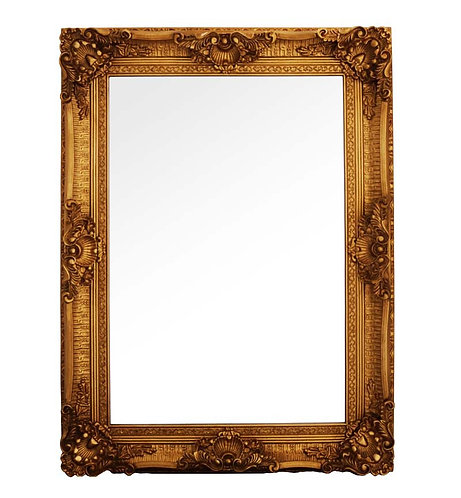 Gold French Style Mirror 120x90cm